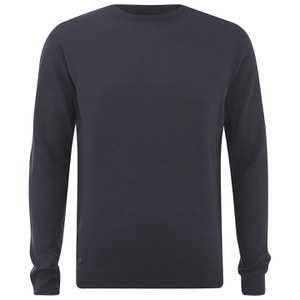 Kensington Eastside Men's Burrow Crew Neck Jumper - Dark Navy