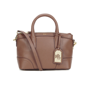Lauren Ralph Lauren Women's Fairfield Mini Satchel - Bourbon