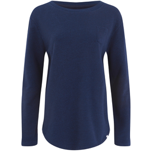 Derek Rose Women's Devon Sweat Top - Navy