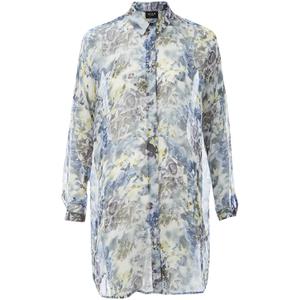 VILA Women's Jolie Shirt Dress - White