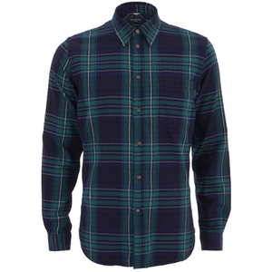 Paul Smith Jeans Men's Checked Shirt - Multi