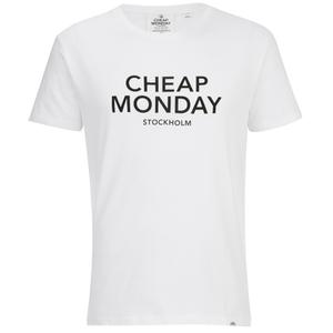 Cheap Monday Men's Standard Logo T-Shirt - White