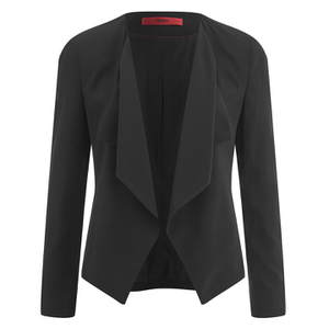 HUGO Women's Amalys Smart Jacket - Black