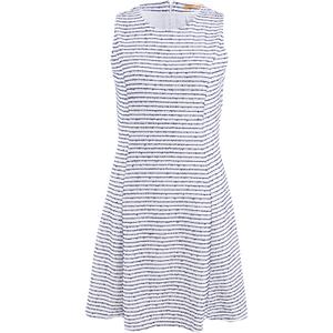 BOSS Orange Women's Dicoco Stripe Dress - White