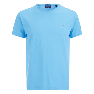 GANT Men's Original Solid T-Shirt - Aquarius Blue