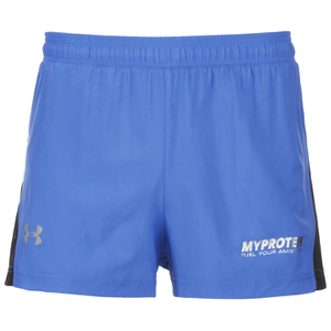 Under Armour Men's Launch Split Shorts - Blue
