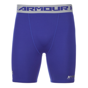 Under Armour Men's Heatgear Compression Shorts – Blue