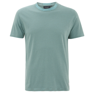 Paul Smith Jeans Men's Striped Crew Neck T-Shirt - Turquoise