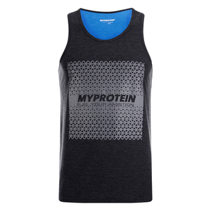Myprotein Tag stringervest for menn – Grå