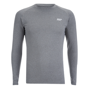 Myprotein Men's Reflective Long Sleeve Top - Grey