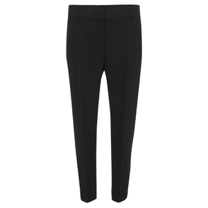 Alexander Wang Women's Ankle Length Pants with Tapered Leg - Onyx