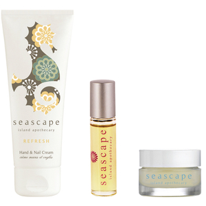 Seascape Island Apothecary Travel Essentials Trio Gift Set (Worth £30)