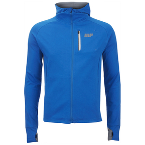 Myprotein Men's Premium Training Zip Hoodie - Blue
