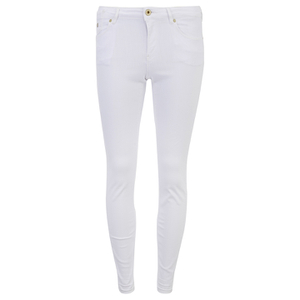 Maison Scotch Women's La Parisienne Plus Jeans White Lie - White
