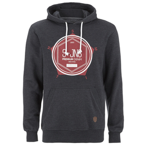 Smith & Jones Men's Tavistock Hoody - Navy Marl