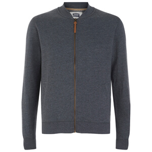 Smith & Jones Men's Brewer Zipped Sweatshirt - Navy