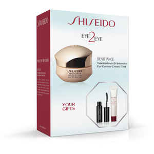 Shiseido Benefiance Wrinkle Resist 24 Eye2Eye Set (Worth £76.88)