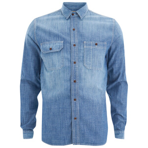 Barbour X Steve McQueen Men's Chadwick Shirt - Stone Wash