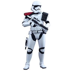 Hot Toys Star Wars Episode Seven First Order Stormtrooper 11 Inch Statue