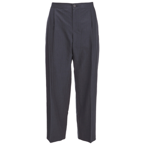 A.P.C. Women's Amalfi Cropped Trousers - Black