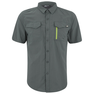 The North Face Men's Sequoia Short Sleeve Shirt - Spruce Green