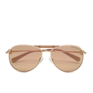 MICHAEL MICHAEL KORS Women's Zanzibar Glam Sunglasses - Rose Gold