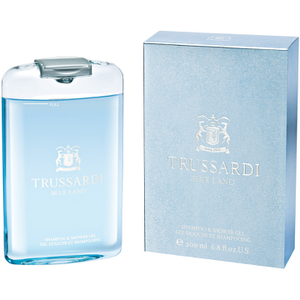 Trussardi Blue Land Shampoo and Shower Gel (200ml)