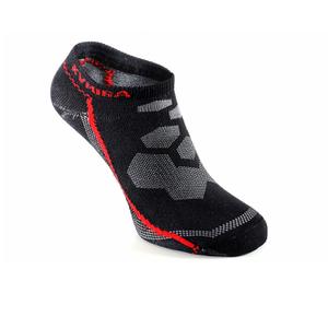 KYMIRA Infrared Ankle Socks - Black/Red
