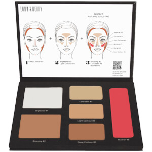 Lord & Berry Contouring Palette (6 Shades)