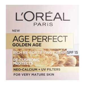 Crema Age Perfect Golden Age Rich Refortifying Cream - SPF15 de L'Oréal Paris (50 ml)