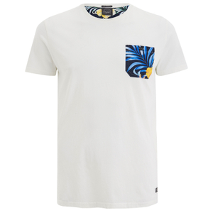 Jack & Jones Men's Originals Army Pocket T-Shirt - White