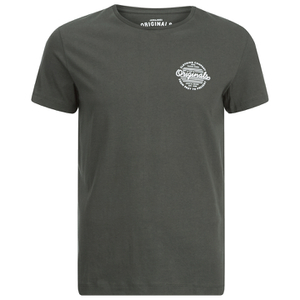 Jack & Jones Men's Originals Smooth T-Shirt - Raven