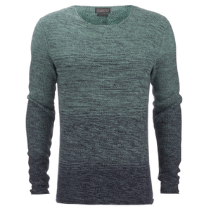 Jack & Jones Men's Originals Basket Knit Jumper - Mineral Blue