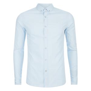 Calvin Klein Men's Walshner Long Sleeve Shirt - Sky Way