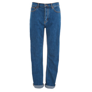 Marc by Marc Jacobs Women's Relaxed Denim Jeans - Bright Blue
