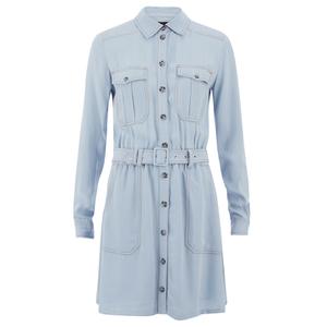 Designers Remix Women's Nova Dress - Light Blue