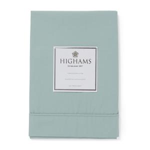 Highams 100% Egyptian Cotton Pillowcase - Duck Egg