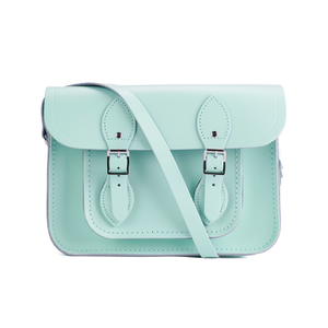 The Cambridge Satchel Company Women's 11 Inch Magnetic Satchel - Sweet Pea Blue