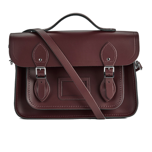 The Cambridge Satchel Company Women's 13 Inch Magnetic Batchel - Oxblood