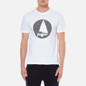 A.P.C. Men's Voller Printed T-Shirt - White