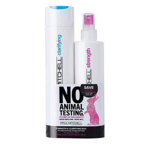 Paul Mitchell Cruelty Free Strength and Clarifying Duo (Worth £29.75)