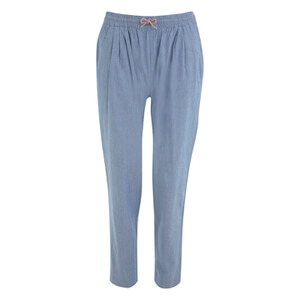 Maison Kitsuné Women's Joyce Chambray Casual Pants - Chambray