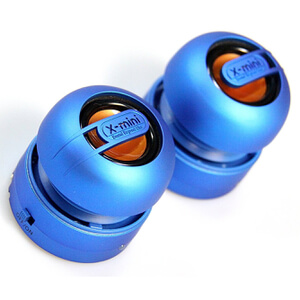 X-Mini Max Capsule Speaker Pair - Blue