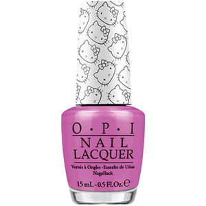 OPI Hello Kitty Collection Nail Varnish - Super Cute in Pink (15ml)