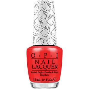 OPI Hello Kitty Collection Nail Varnish - 5 Apples Tall (15ml)