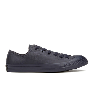 Converse Men's Chuck Taylor All Star Mono Craft Leather Ox Trainers - Inked