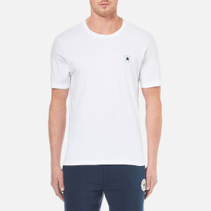Converse Men's Left-Chest CP Crew T-Shirt - Converse White