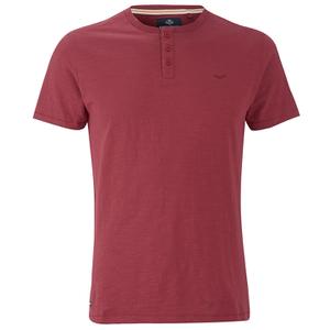Threadbare Men's Oliver Grandad T-Shirt - Rust