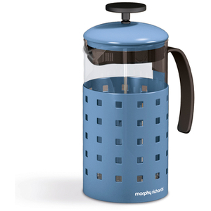 Morphy Richards 974654 8 Cup Cafetiere - Cornflower Blue - 1000ml