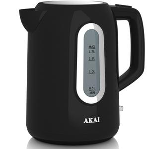 Akai A10001B Jug Kettle - Black - 1.7L